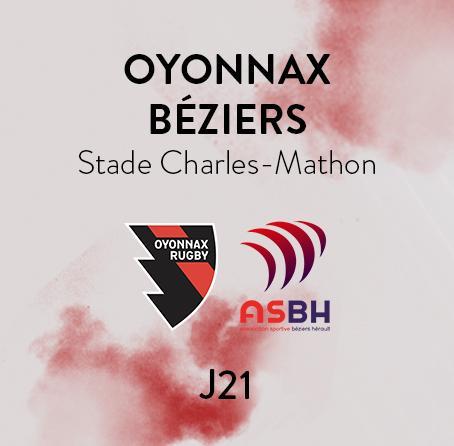 OYONNAX - BEZIERS
