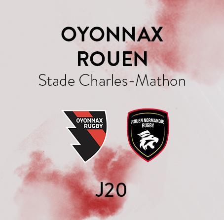 OYONNAX - ROUEN