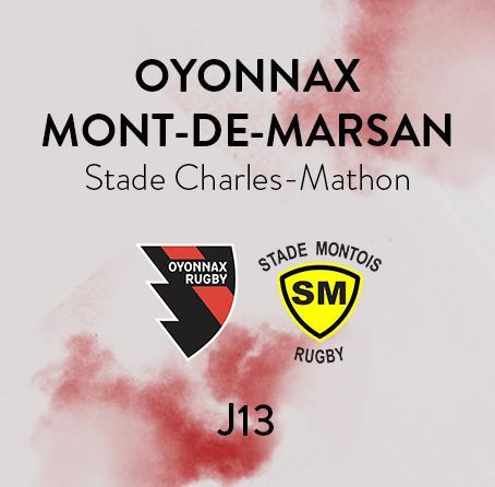OYONNAX - MONT DE MARSAN
