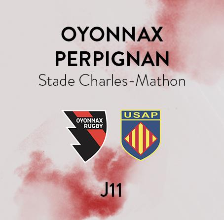OYONNAX - PERPIGNAN