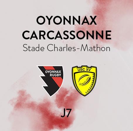 OYONNAX - CARCASSONNE