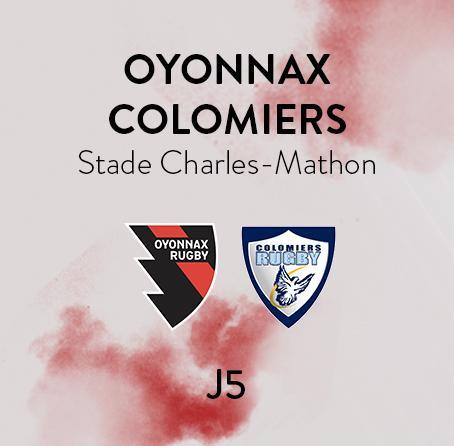 OYONNAX - COLOMIERS