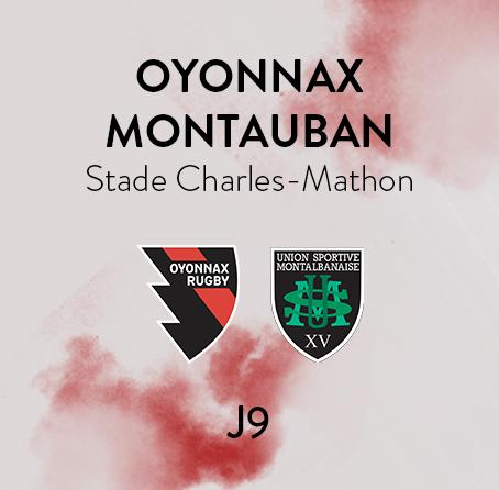 OYONNAX - MONTAUBAN