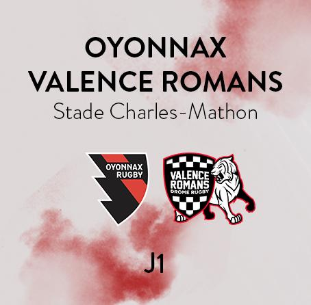 OYONNAX - VALENCE ROMANS