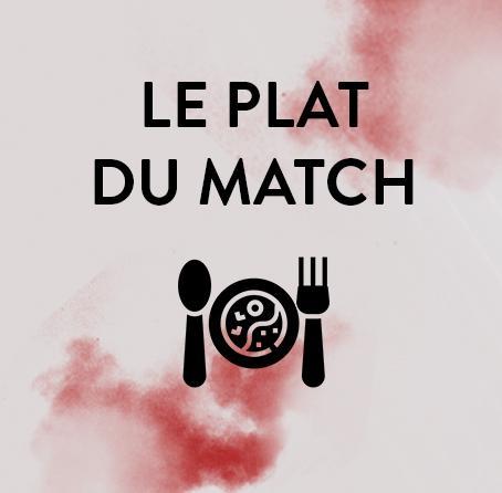 PLAT DU MATCH MONT-DE-MARSAN