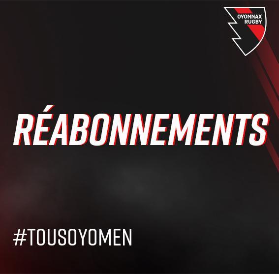 REABONNEMENT 2021-2022